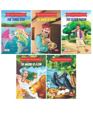Tales From Panchtantra Combo 2 Pack Of 5 - English