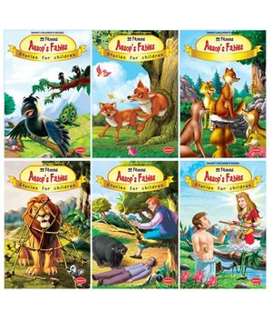 Aesops Fables Set of 6 - English