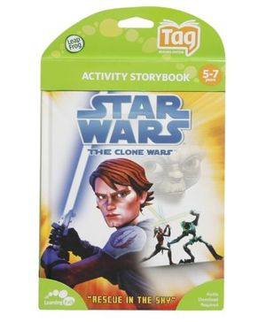 Leap Frog - Activity Storybook - Star Wars The Clone Wars - Rescue In The Sky