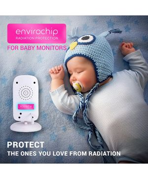 Envirochip Radiation Protector Chip For Baby Monitor Pack of 2 - Pink