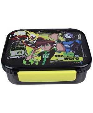 Ben 10 - Black Square Lunch Box