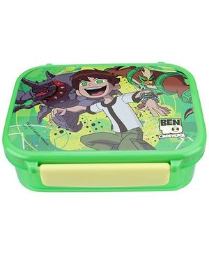 Ben 10 - Green Square Lunch Box