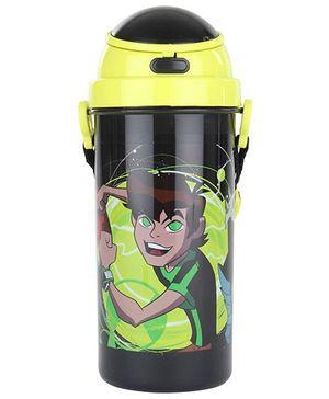 Ben 10 Green Pop Up Lid Bottle - 600 ml