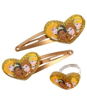 Disney Princess - Snap Clips with a Matching Finger Ring