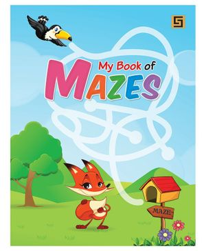 My Book of Mazes - English