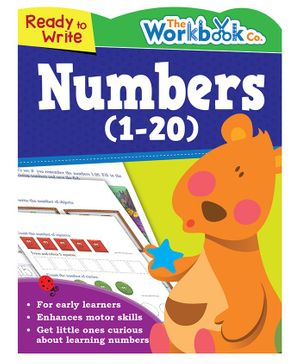 Ready To Write Numbers 1 to 20 - English
