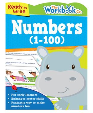 Ready To Write Numbers 1 to 100 - English