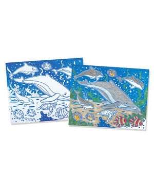 Meliss and Doug Foil Coloring Pad - Animals