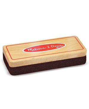 Melissa and Doug Felt Chalk Eraser - Brown