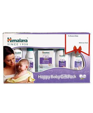 Himalaya Herbal Happy Baby Care Gift Pack - Set of 5