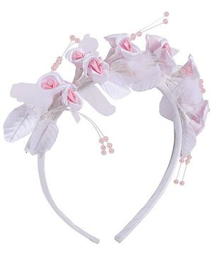 Isabelle - Stylish Floral Design Hair Band