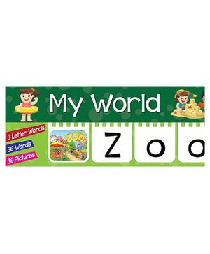 My World Toddlers Flap Book - English