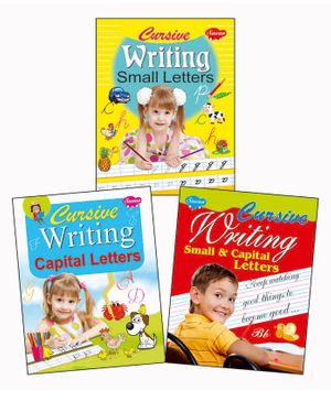 Cursive Writing Books Set of 3 - English