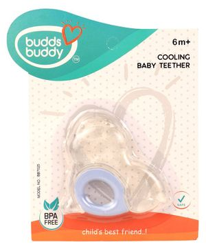 Buddsbuddy Cooling Baby Teether - Blue