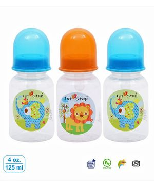 1st Step Anti Colic Feeding Bottle Orange -  250 ml