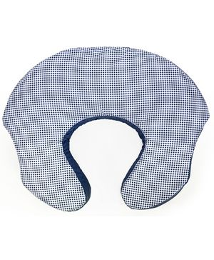 Bright Starts  - 2 in 1 Feeding Pillow Baby Lounger Light Blue