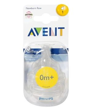Avent - Teat 1 Hole Normal Airflex