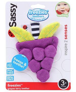 Sassy - Freezies Grape Teether