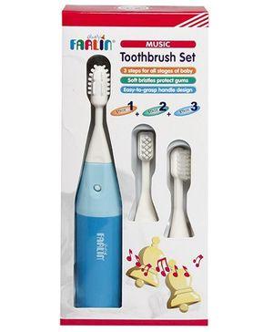 Farlin Music Kids Toothbrush Set