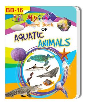 Aquatic Animals Themed Board Book - English