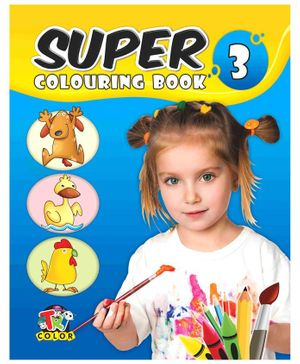 Super Colouring Book 3 - 80 Pages