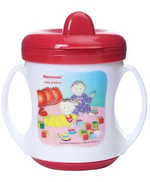 Morisons Baby Dreams Poochie Feeding Cup Red - 180 ml