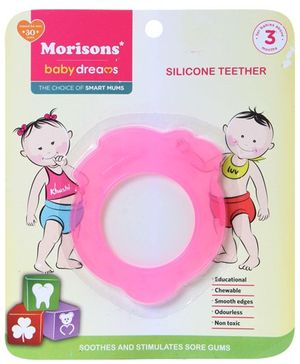 Morisons Baby Dreams - Silicone Teether Strawberry