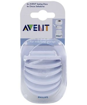 Avent Sealing Discs - Pack Of 6