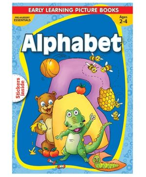 Macaw - Pre Nursery Alphabet With Sticker Inside