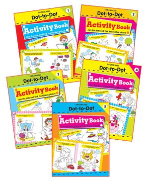 Dreamland - Fun with Dot to Dot With Pack Of 5 titles