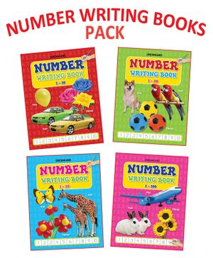 Dreamland - Number Writing Book With 4 Titles