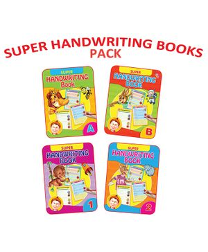 Dreamland Super Handwriting Books Combo Pack - English