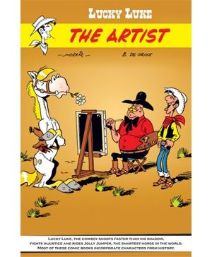 Euro Books-Lucky Luke The Artist