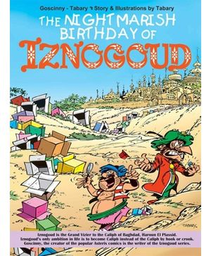 Euro Books - The Nightmarish Birthday Of Iznogoud
