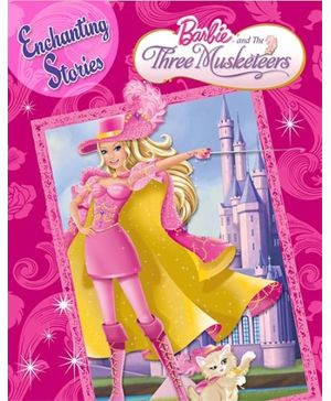 Barbie- Barbie And The Three Musketeers Story Book