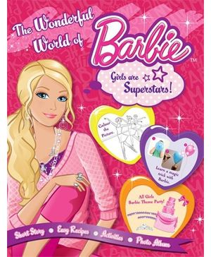 Barbie- Enchanting Story Magical World Of Barbie 3 In 1