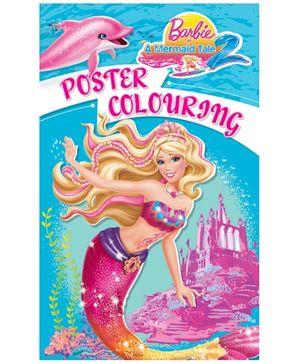 Barbie -  Mermaid Tale 2 Poster Coloring Book
