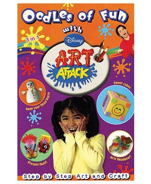 Disney - Oodles Of Fun With Disney Art Attack