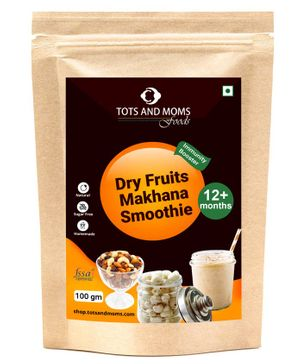 Tots and Moms Foods Dry Fruits Makhana Smoothie - 100 gms