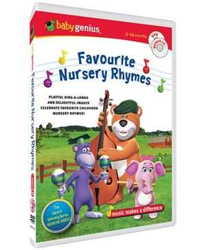 Baby Genius - Favourite Nursery Rhymes DVD In English