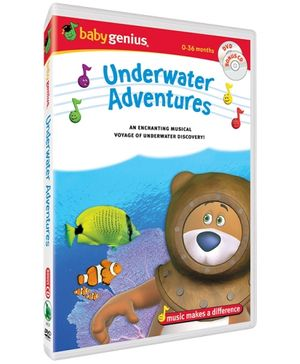 Baby Genius - Underwater Adventures DVD In English