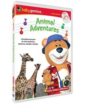 Baby Genius - Animal Adventures DVD In English