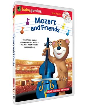 Baby Genius - Mozart And Friends DVD In English