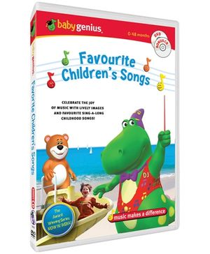 Baby Genius - Favourite Children Songs DVD In English
