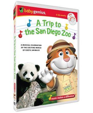 Baby Genius - A Trip To The San Diego Zoo DVD In English