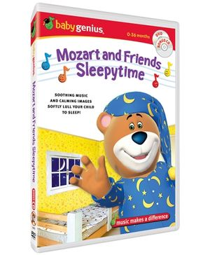 Baby Genius - Mozart And Friends Sleepytime DVD In English