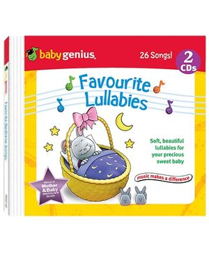 Baby Genius - Favourite Lullabies 2 Audio CD In English