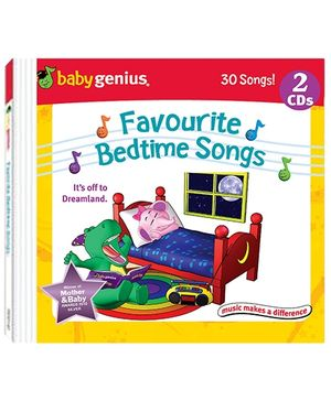 Baby Genius - Favourite Bedtime Songs 2 Audio CD In English
