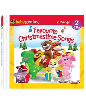 Baby Genius - Favourite Christmas Time Songs 2 Audio CD In English