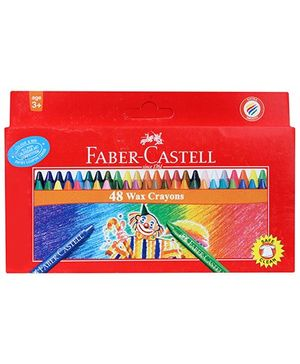 Faber Castell 48 Wax Crayons